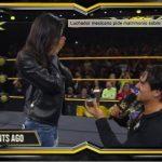 Ángel Garza pide matrimonio en pleno ring después de ganar el campeonato de la WWE