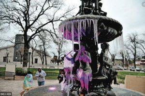 Alerta de  congelación para Los Dos Laredos y la región