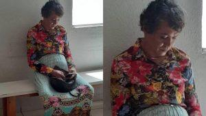 Se disfraza de su madre de 60 años para pasarle el examen de conducir; lo descubren