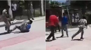 Maestro detiene una pelea a punta de 'cinturonazos' (VIDEO)