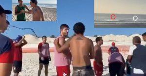 VIDEO: Jugadores del Atlante salvan a hombre de morir ahogado en Cancún