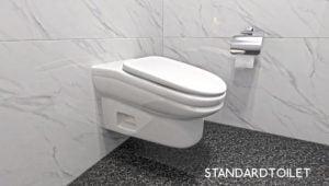 Crean incómodo inodoro para evitar que trabajadores pierdan tiempo en el baño