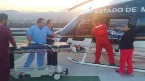Trasladan de Oaxaca a CDMX a saxofonista atacada con ácido