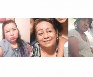 Desaparecen 3 mujeres en Tamaulipas