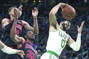 Celtics 'torean' a Chicago