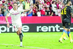 El cuadro Angelino presentaría este día a Javier Hernández como nuevo refuerzo
