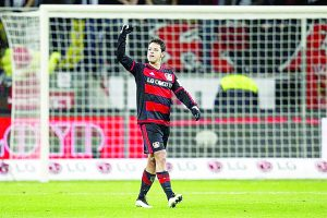 Ponen a 'Chícharo' entre los mejores  de la Bundesliga