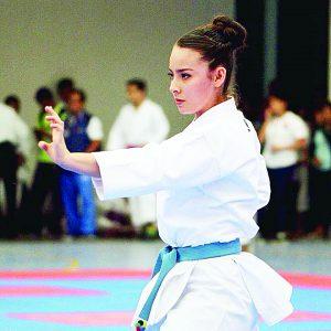 La juvenil artemarcialista Yaneth Quiroz destaca en la serie Mundial en Chile; ahora va por selectivo Nacional