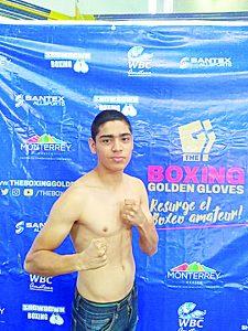 Ángel Benavides se reporta listo para su próximo combate