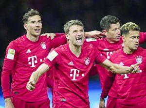 Aplasta Bayern Munich al Hertha