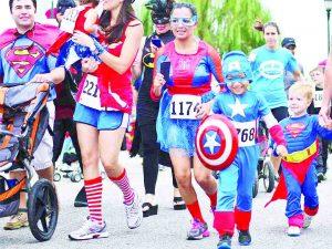 Correrán por los  niños con cáncer