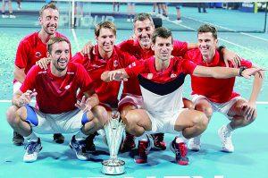 Novak Djokovic conduce a su equipo a ganar la Copa ATP