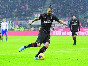 Sampdoria frustra retorno de Zlatan con Milan que sigue sin poder anotar