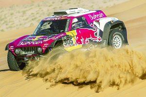El español Carlos Sainz mantiene cómoda ventaja cuando restan dos etapas en el Rally Dakar