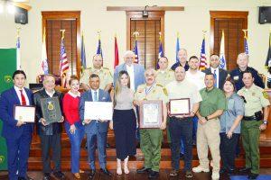 Reconoce Senado mexicano labor del sheriff del condado