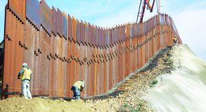 Justifica la Patrulla Fronteriza necesidad de construir un muro
