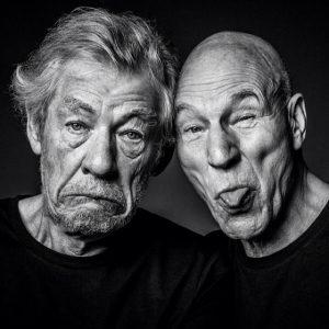 Ian McKellen le pidió matrimonio a Patrick Stewart en la premiere de Star Trek Picard