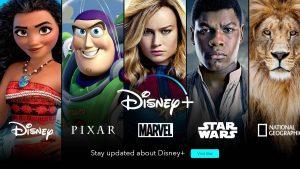 Disney+ anuncia los estrenos para el 2020