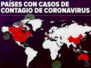 Sigue en Google Maps el avance del coronavirus por el mundo