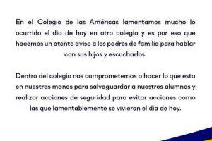 Piden operativos permanentes de seguridad en escuelas de Torreón
