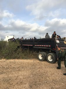 Detienen en total a 108 extranjeros en Laredo