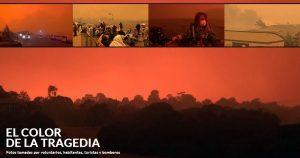 Ejército de Australia evacúa a miles de habitantes y turistas; el incendio esta incontrolable