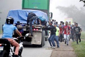 Avanza nueva caravana migrante hacia EU