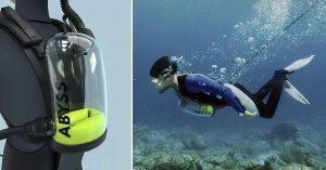 Crean pulmón artificial para respirar debajo del agua