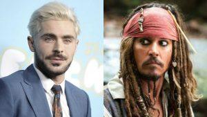 Zac Efron sería el nuevo Jack Sparrow en Piratas del Caribe