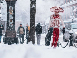 Revelan identidad del mariachi en la tormenta de nieve