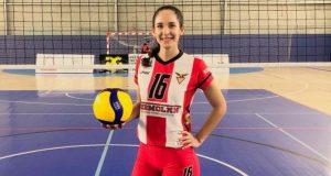 Tamaulipeca firma con equipo profesional de voleibol en Portugal