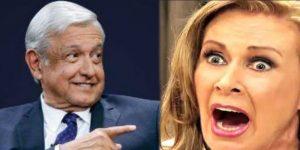 Laura Zapata les levanta el dedo a todos los seguidores de AMLO