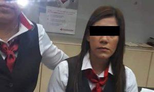 Investigan a cajera de banco Santander por 'pitazos' tras asalto (VIDEO)