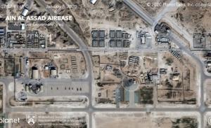 Ataque a base aérea iraquí, que alberga soldados de EU, deja 4 heridos