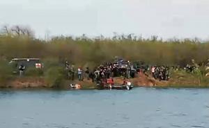 Vehículo de Sedena cae en canal y mueren cuatro militares en Reynosa