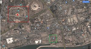 Misiles caen cerca de Embajada de EU en Bagdad