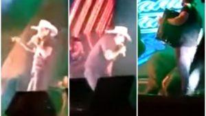 VIDEO: Cantante muere de un infarto sobre el escenario