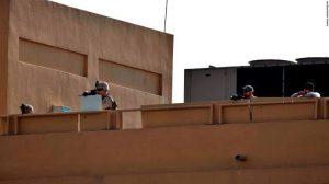Reportan caída de cohetes cerca de embajada de EU en Irak