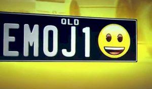 ¿Emojis en las placas de tu auto?, cerca de transformarse en realidad