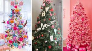 La nueva tendencia: Arbolitos de navidad para el San Valentín