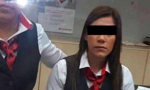 Cajera de Santander no alertó a delincuentes, fue un cliente falso: FGE