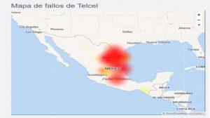 Colapsa Telcel; reportan fallas en red