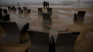 Tormenta del siglo desaparece playas de Cataluña