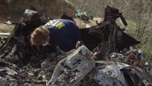 VIDEO: Difunden imágenes del sitio donde cayó helicóptero en el que murió Kobe Bryant