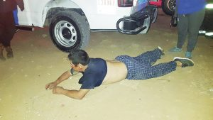 En Nuevo Laredo pirómano quema vivienda y amenaza con violar a niña (FOTOS)