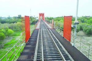 Construirán nuevo puente ferroviario