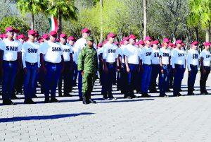 Arrancan 402 jóvenes su   servicio militar