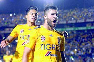 Acecha Gignac a marca de suazo Tigres
