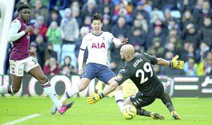 Lucha el Tottenham puesto de Champions