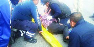 Motociclista lesionado;  lo embiste camioneta
